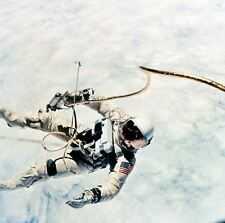 8x10 Print NASA Gemini 4 Ed White Tethered Spacewalk 1965 #857