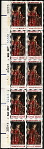 US - 1968 - 6 Cents Angel Gabriel Christmas Issue # 1363 Plate Block Mint NH VF