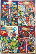 DC VS MARVEL #1-4 VF/NM LOT 1996 THANOS VS DARKSEID DC/MARVEL COMICS