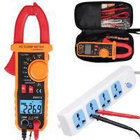 Digital Clamp Multimeter Amp Meter  AC/DC Current Voltage Volt Tester Probe