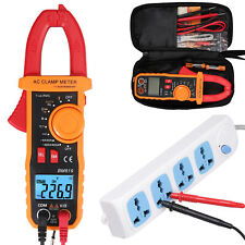Digital Clamp Multimeter Amp Meter  AC/DC Current Voltage Volt Tester Probe
