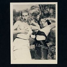 NUDE women's Outdoor Fun/des femmes nues ont plaisir * vintage 50s us photo #2