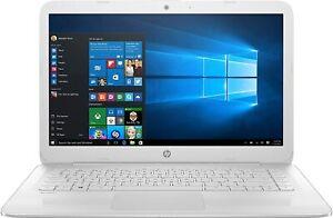 HP Stream Notebook (Snow White) - 14-AX027CL - Intel Celeron, 4GB RAM, 32GB SSD