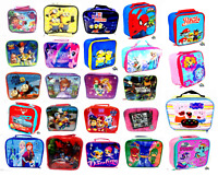 Kids Children character  Insulated Lunch Bag Box