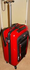 Tumi Ducati Red Quattroporte 4 Wheeled Medium Trip Packing Case - SUPER RARE