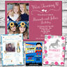 10 Boys Girls Birthday Invitations Joint Party Twins Personalised Childrens Kids