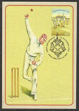 AUSTRALIA 1992 CRICKET 45c SHEFFIELD SHIELD MAXIMUM CARD MAXICARD