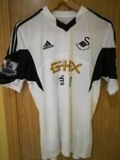 Camiseta de fútbol de clubes internacionales blanco con usada en partido
