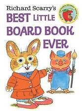 Richard Scarry's Best Little Board Book Ever by Richard Scarry (Board book, 2013)