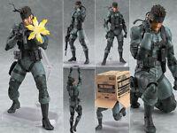 Metal Gear Solid 2 Solid Snake figma 243 Figure Figurine No Box