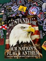 We Stand For Tin Sign 2175