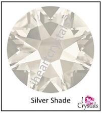 SILVER SHADE Swarovski Crystal Flatback Rhinestones 5ss 7ss 9ss 12ss 16ss 20ss