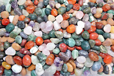 500 Carat Lot Polished Assorted Mixed Bulk Tumbled Gemstone Mix Small