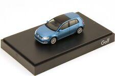 RARE VW GOLF 5G VII 7 GT HIGHLINE PACIFIC BLUE 5 DOOR 1:87 RIETZE (DEALER MODEL)