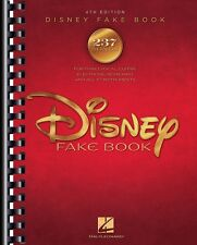 The Disney Fake Book 4th Edition Sheet Music Real Book Fake Book NEW 000175311