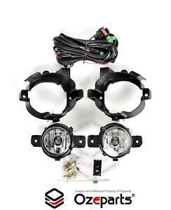 Full Set Fog Light Spot Driving Lamp KIT For Nissan Dualis 07~09 J10 Series 1