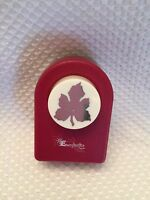 Leaf Grapevine by Emagination PAPER PUNCH  Card Making Craft Scrapbooking EUC