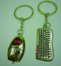 Partner Schlüsselanhänger Valentinstag Liebe Jahrestag PC Computer Maus Tastatur
