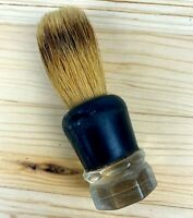 Vintage MADE RITE Lucite Shaving Brush Pure Badger #303 L