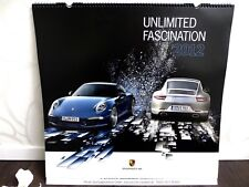 PORSCHE DESIGN ★ Kalender 2012 UNLIMITED FASCINATION 911 Cayman Panamera 56x59cm