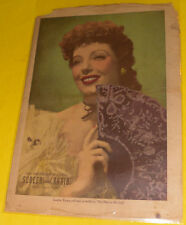 Milwaukee Journal Screen & Radio Magazine 1941 Loretta Young cover Great Pics!