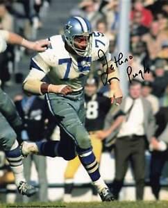 Jethro Pugh Dallas Cowboys Autograph 8x10 *1045