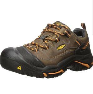 Keen Utility Men's Braddock Low Soft Toe Work Shoes Style 1014606, 15EE