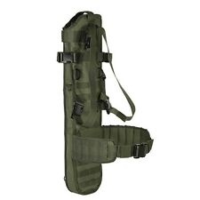 Voodoo Tactical Hunting Military Rifle Scabbard w/ Shoulder Harness& Belt OD GRN