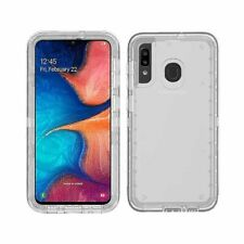 For Samsung Galaxy A50 A30S A50S Case Clear Heavy Duty Armor Rubber Phone Cover