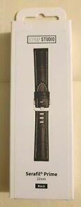 NEW SAMSUNG Serafil® Prime GENUINE Leather 22mm GALAXY Watch Band BROWN BLACK