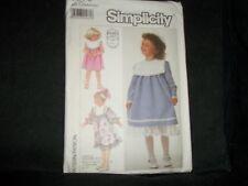 Simplicity 7979 Gunne Sax Child Dress Sewing Pattern Size O 5, 6, 6X New