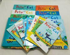 Huge Lot of Pete the Cat HC PB Picture Books Valentine Christmas Shoes Pet+ C397