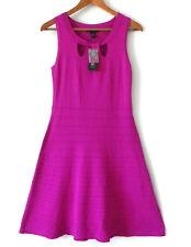 NWT INC International Concepts Knit Dress Sleeveless Stretch Magenta Size M