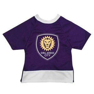 Orlando City SC MLS All Star Dogs Premium Pet Jersey USA Made Sizes XXS-XXL