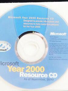 Microsoft Year 2000 Resource Cd
