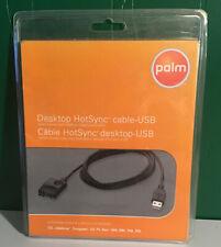 PALM DESKTOP HOTSYNC  CABLE USB ORIGINAL T/X TUNGSTEN E2 T5 TREO 650 700w