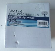 Water Filtering Cartridges for Catit Design Senses (6 PACK)