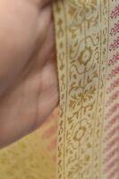 2.5 Yard Sanganeri Hand Block Cotton Craft Sewing Running Fabric Print Floral
