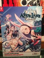 Azur Lane Crosswave Poster Video Game Store Display Promotional Ad