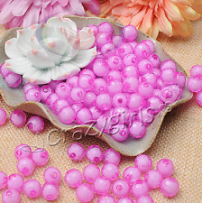 100pcs Wholesale  Watermelon Acrylic Beads In Beads For Jewelry Making 10mm J