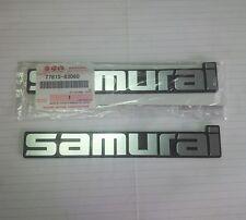2x of Suzuki Samurai Fender Emblem