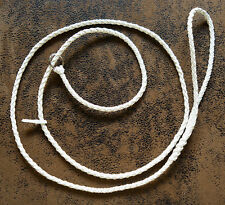 Dog Show Lead - Braided  Leather Slip Lead - various lengths