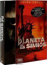 EL PLANETA DE LOS SIMIOS COLECCION  EDICION ESPECIAL Charlton Heston