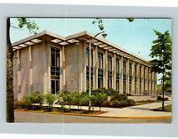 The American University Law College, Myers Hall, Chrome Washington DC Postcard
