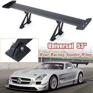 135cm/53'' Aileron Arrière Universel Aluminium Léger GT Réglable Becquet Course