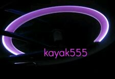 4 X HOT PINK LED VALVE STEM CAR RIMS TIRE LIGHTS FIT ALL MAKES MODELS BIKES TOO
