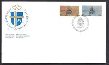 Canada  FDC  # 1030 - 1031    PAPAL VISIT   1984   New Fresh Unaddressed