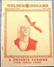 """Phoenix Fanzine """"Golden Dreams 1"""" GEN"""