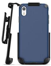 iPhone XR Belt Clip Holster Case / Cover | Thin Grip Protective Case Nova Blue