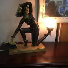 European Art Deco Antique Lamps